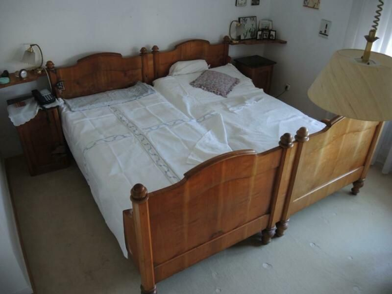 Biete Dieses Grosse Doppelbett Im Biedermeier Louis Philippe Stil