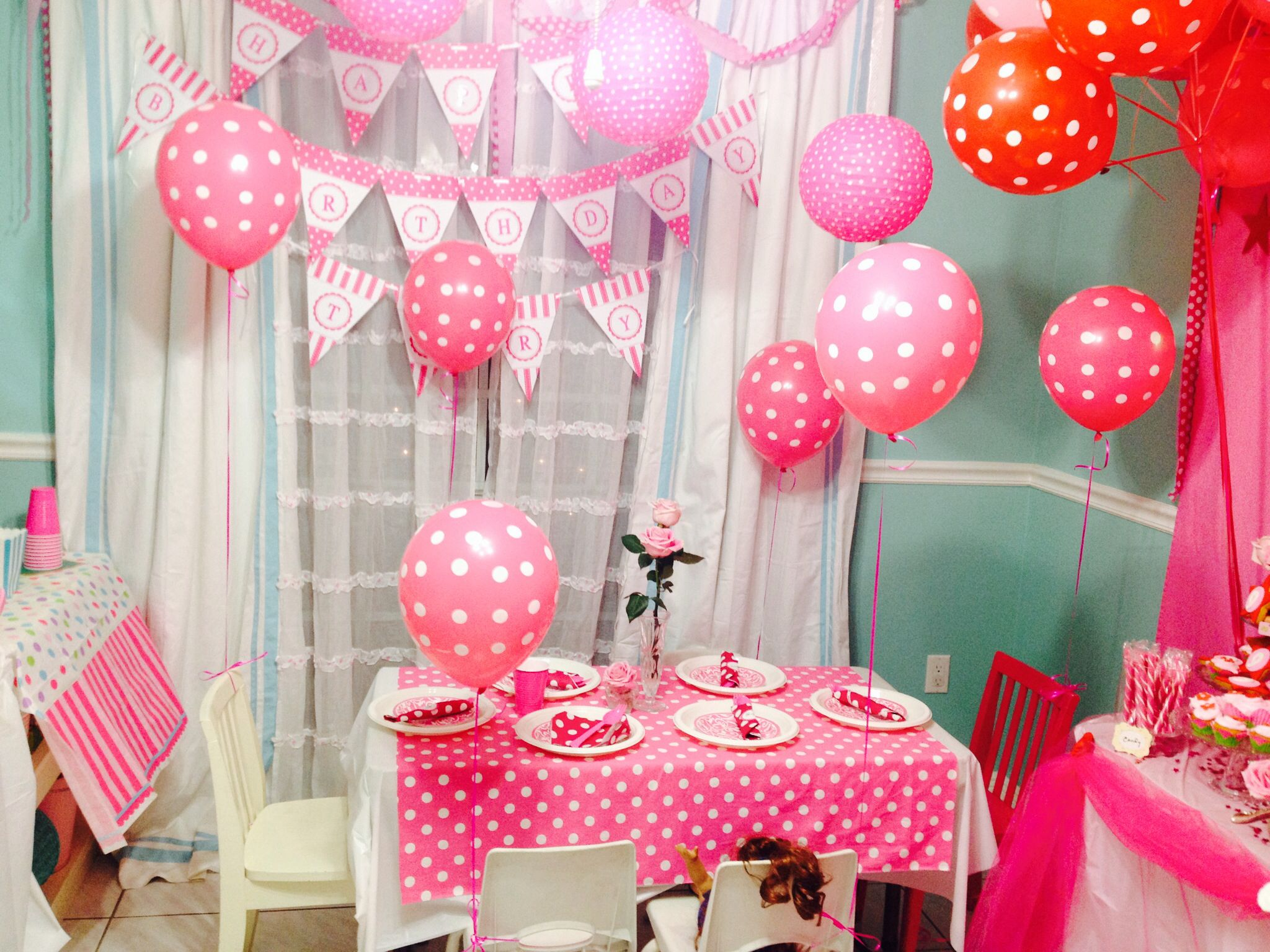 Room Decoration | American girl birthday, Party ...