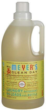 Mrs Meyer S Clean Day Baby Blossom Laundry Detergent 64 Loads