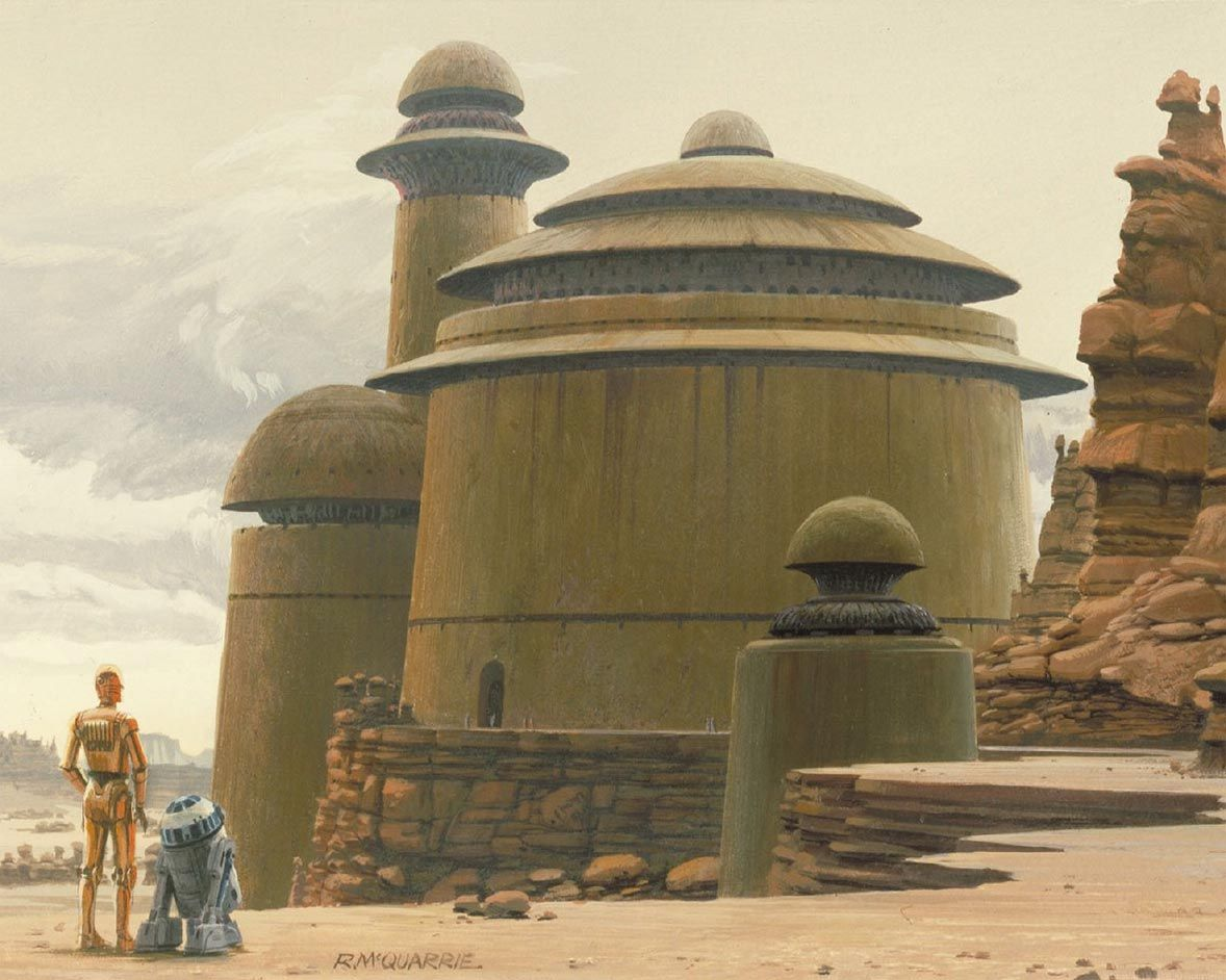 Concept art from Ralph McQuarrie. He defined the look & feel of the whole Star Wars franchise.