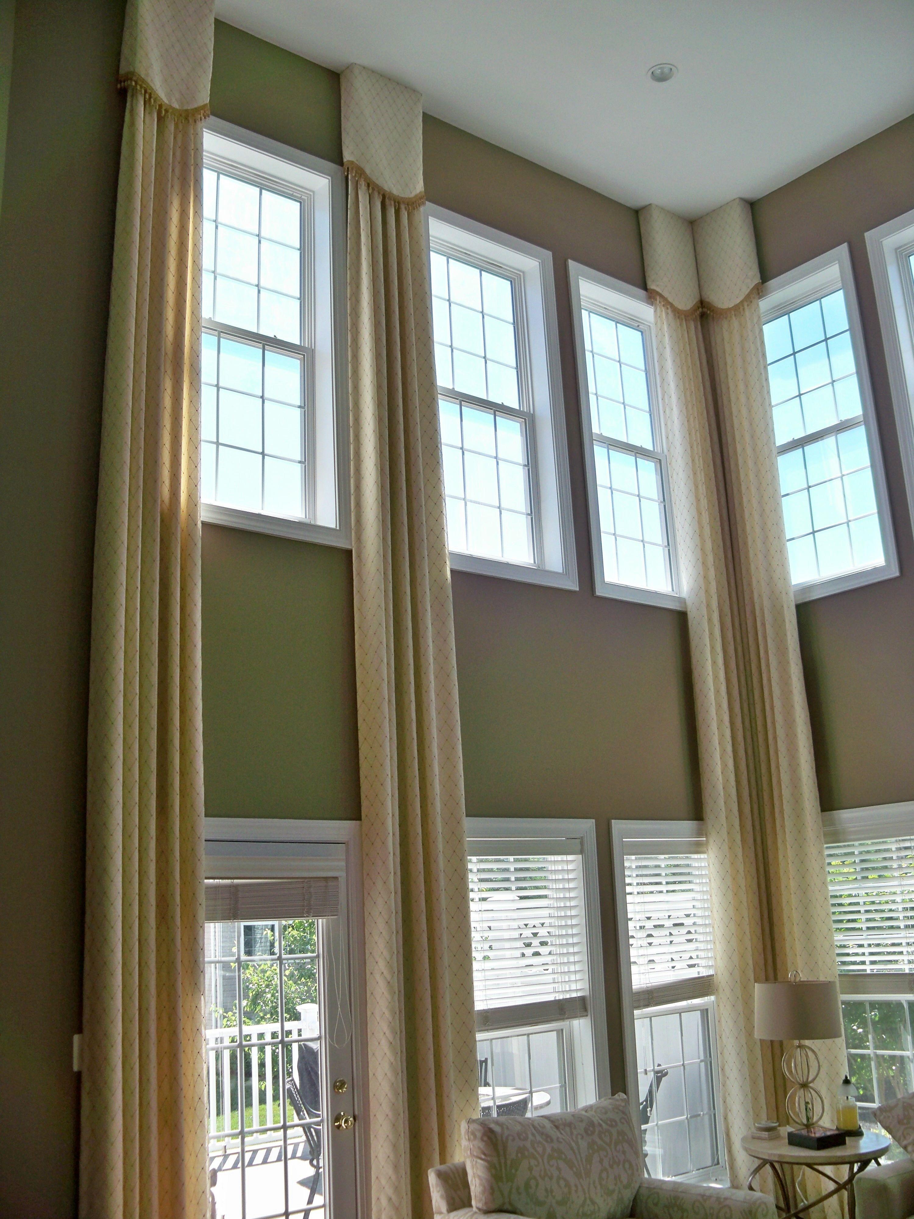 Two Story Window Curtain Ideas Curtain Menzilperde Net