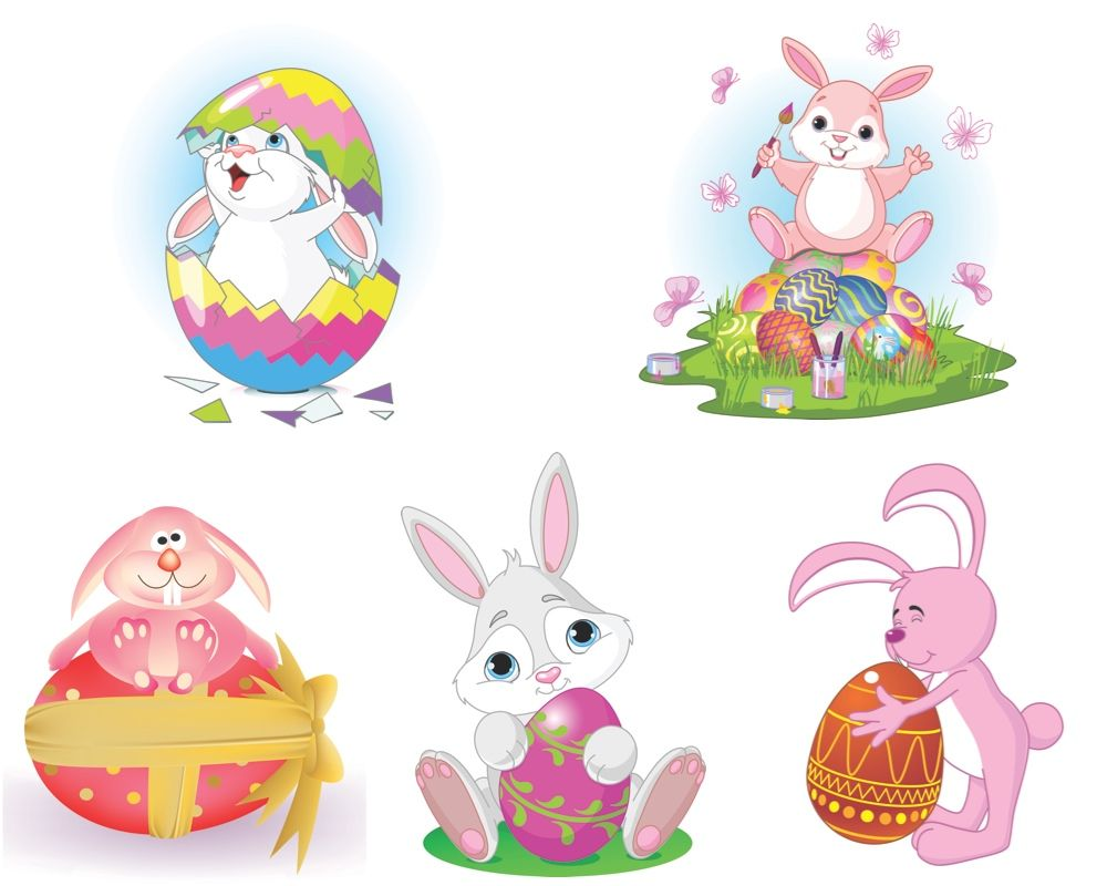 Easter bunny vector | Vector Graphics Blog | Easter ... Easter Clip Art Free Cute