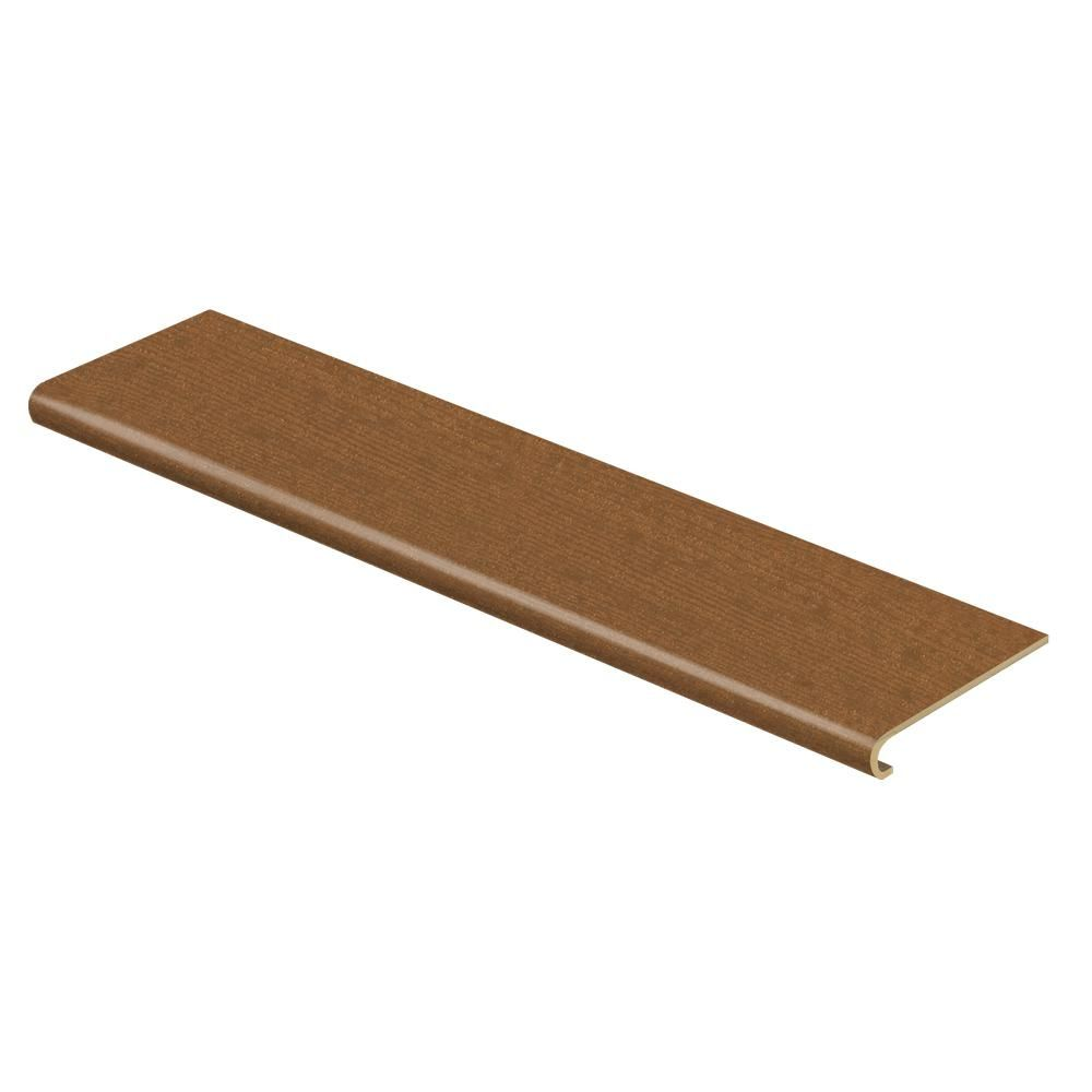 Cap A Tread Oceanside Beechwood 47 in. Length x 12-1/8 in. Deep x 1-11/16 in. Height Laminate to Cover Stairs 1 in. Thick, Light