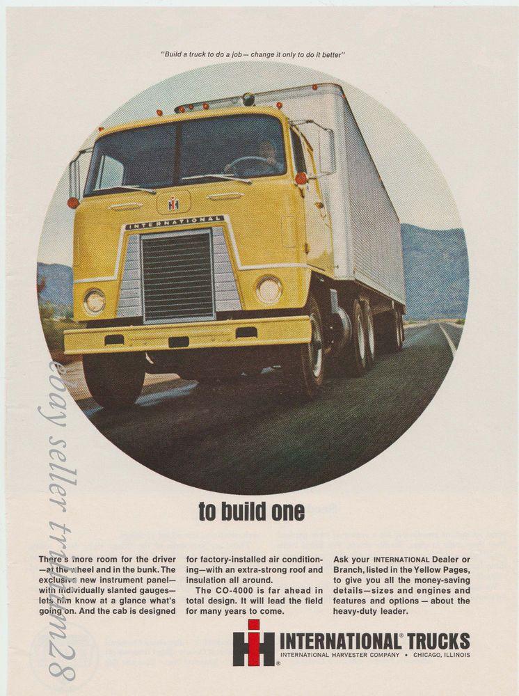 Product advertised International Trucks CO4000. eBay
