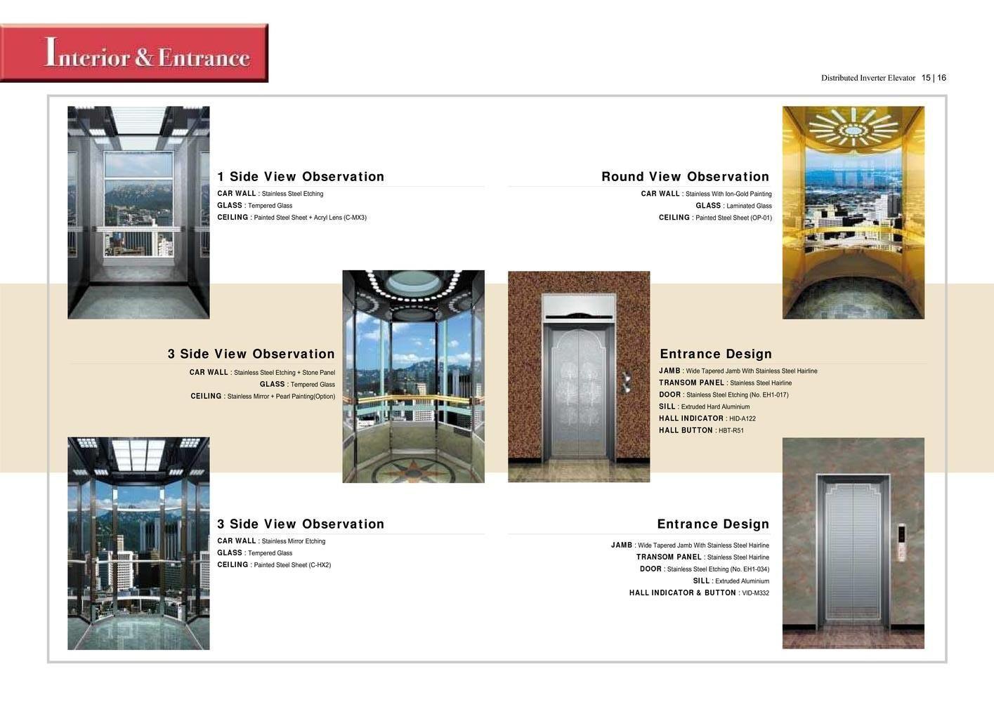 Observation - SIGMA Elevator - (Version JPG) - Page n° 9 - PDF Catalogues | Documentation | Brochures