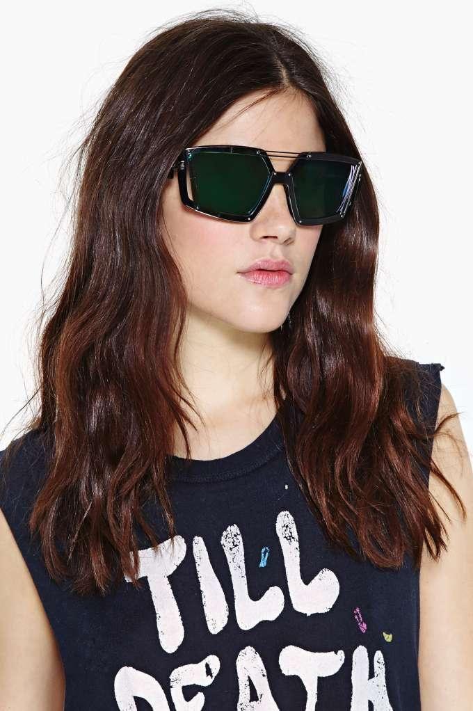 09ebcc6acb Linda Farrow X Prabal Gurung Metropolis Glasses