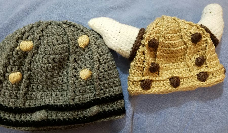 Viking Helmet Pattern (Crochet)