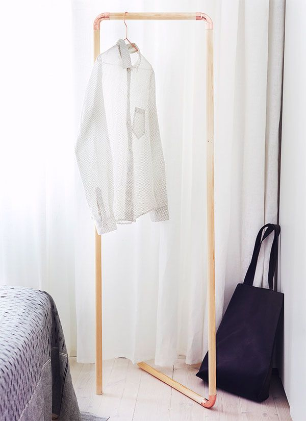 The Top Five Best Diys Of The Moment Diy Clothes Rack Diy Coat