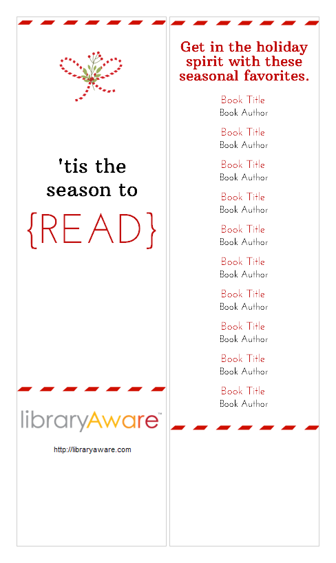 We Also Made Some Cool Bookmark Templates And Shelf Talkers With