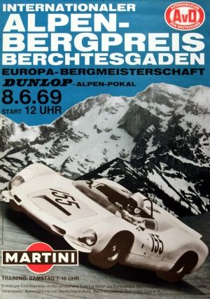 Alpen-Bergpreis car race 1969