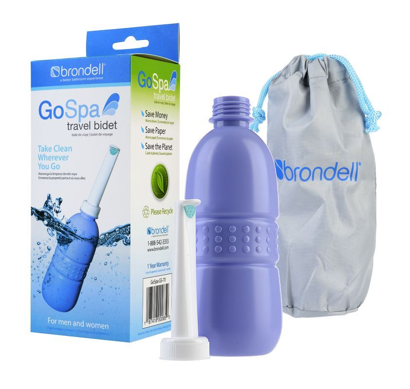 Brondell Gs 70 Travel Traditional Toilets Bottle