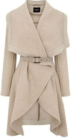 Oasis Textured Drape in Beige (cream) | Olivia pope