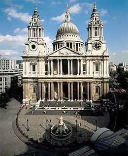 St Paul's Cathedral, London  Architect, Sir Christopher Wren