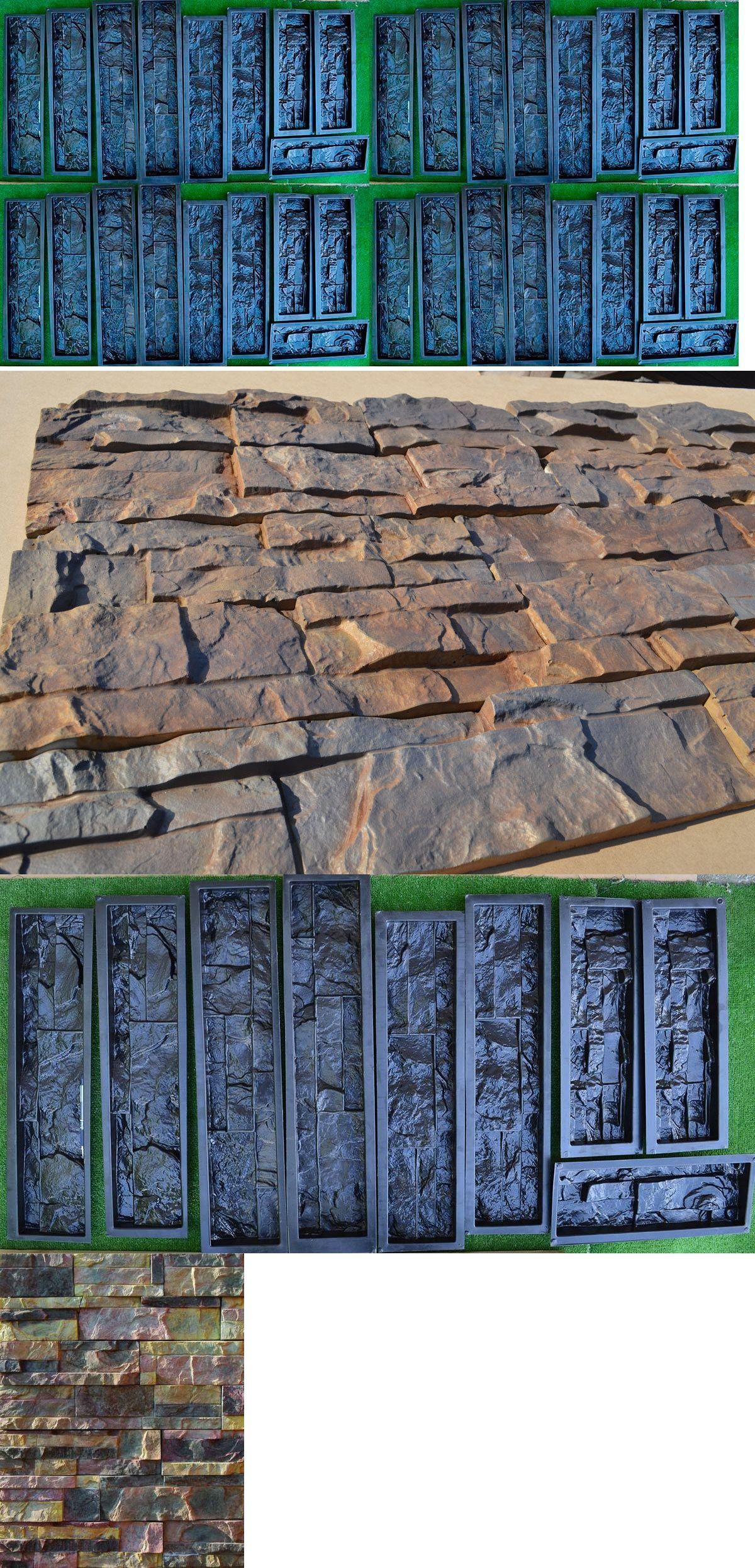 Slip Casting Molds and Kits 83898: 40 Plastic Molds Concrete Plaster ...