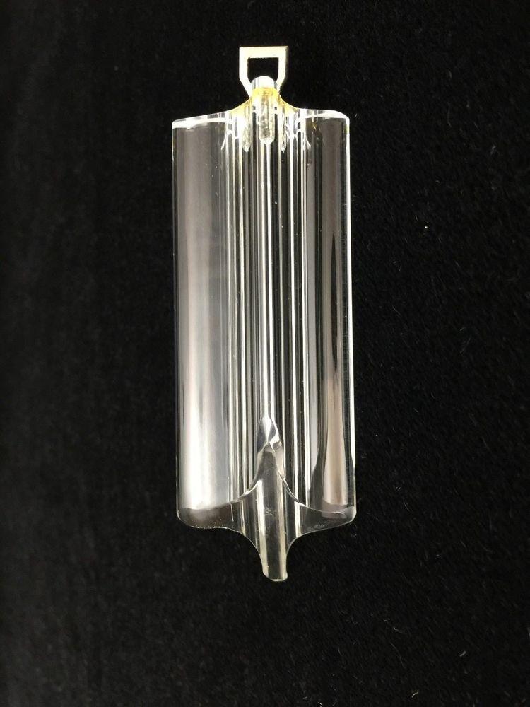 Murano Glass Quadriedro Or Tube Spare Part For Venini