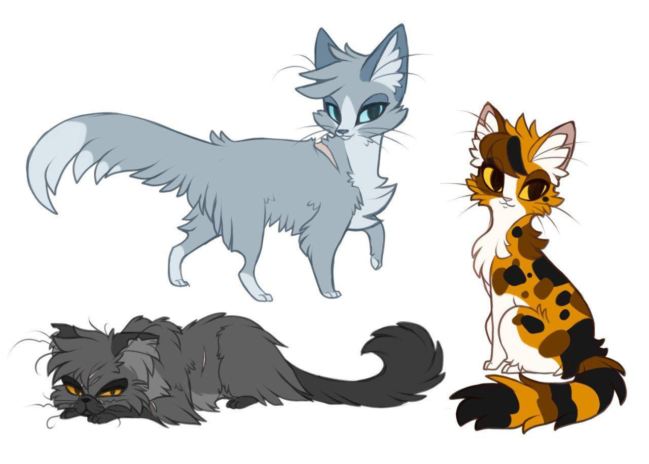 Три кота три хвоста рисунки лапочка выяснили, кто