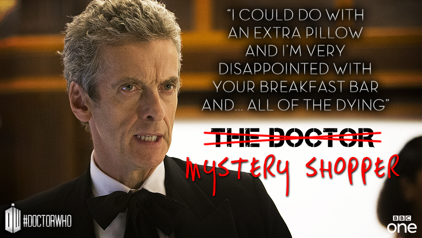 Image result for doctor who mystery shopper