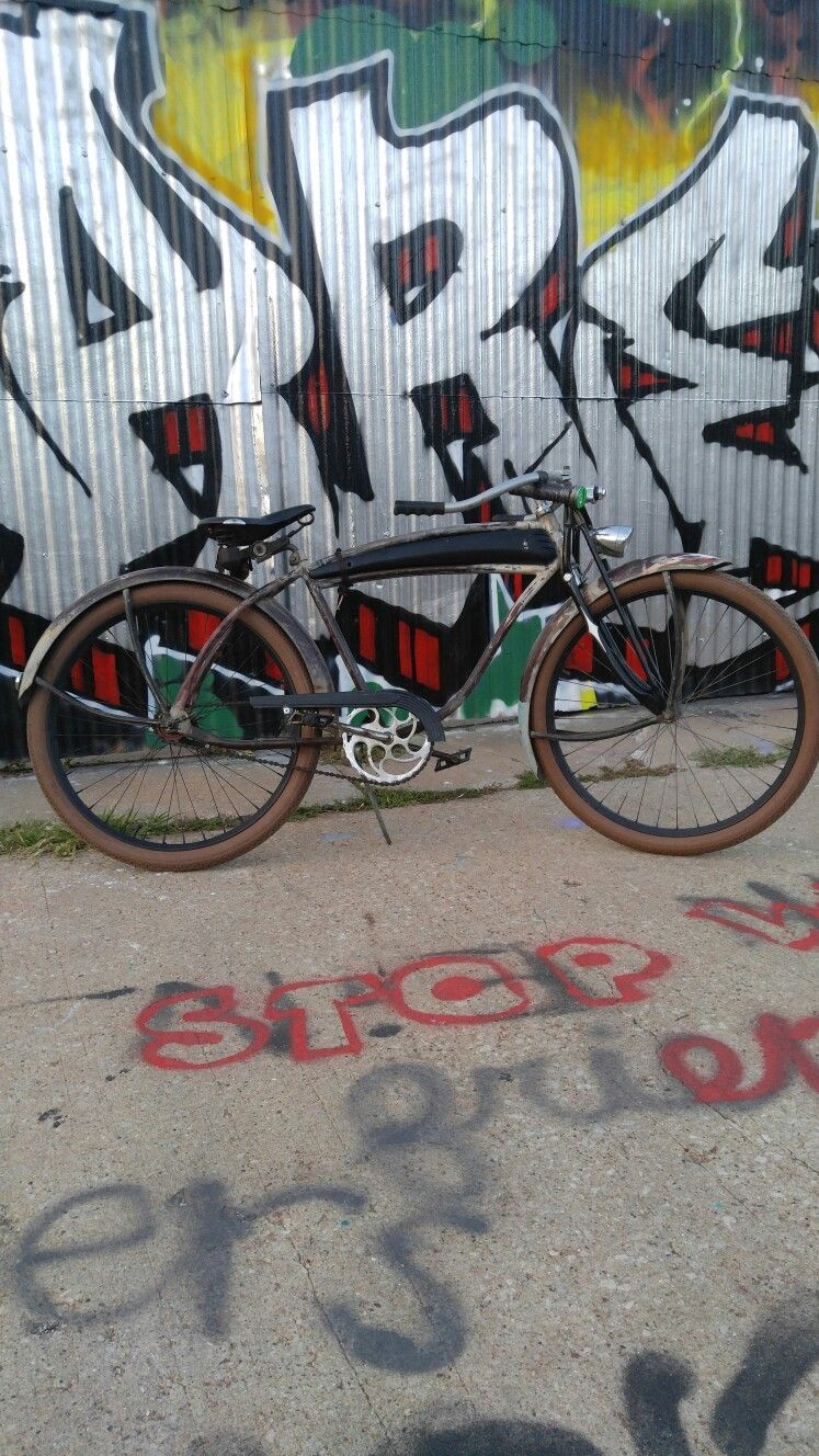 Pin by Brent Baran on baran bikes Rat rod, Bike