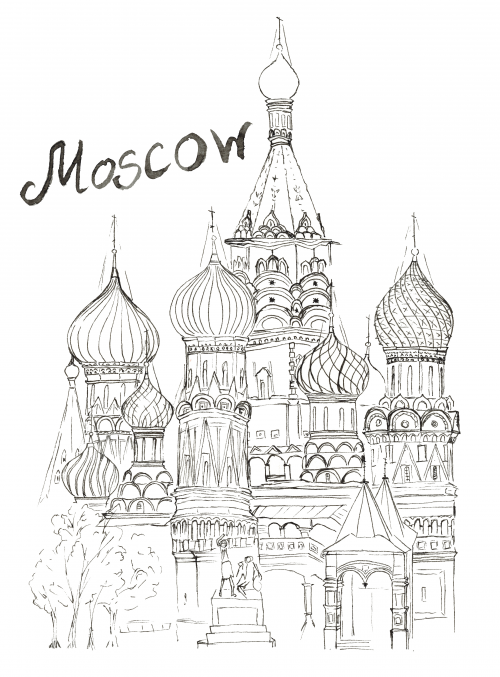 russian folk art coloring pages - photo#29