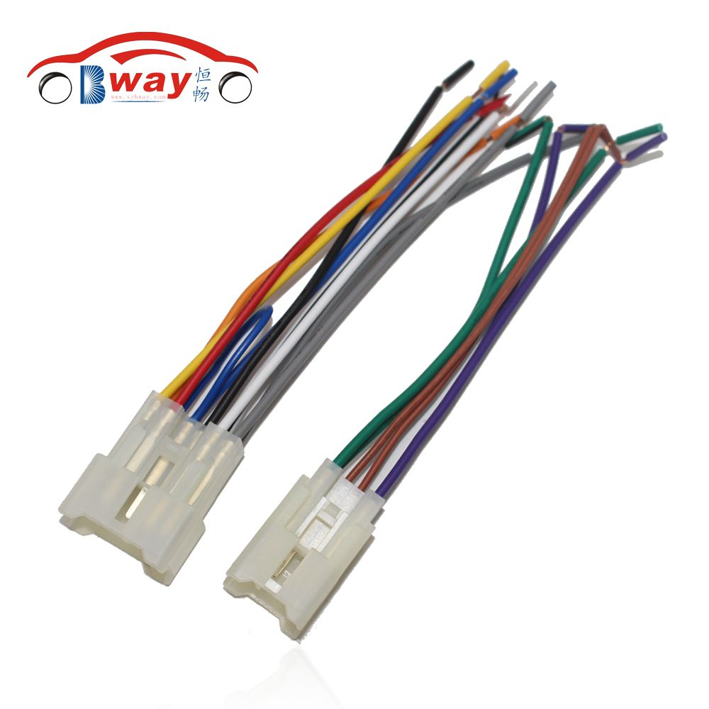 Car Radio Stereo Female Iso Plug Power Adapter Wiring Harness Mercedes E Class Special For Toyota Universal