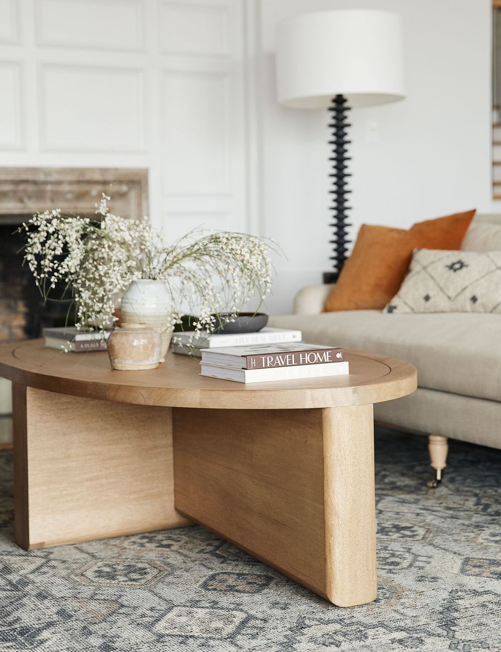 Noora Oval Coffee Table In 2020 Oval Coffee Tables Minimal Coffee Table Living Room Coffee Table