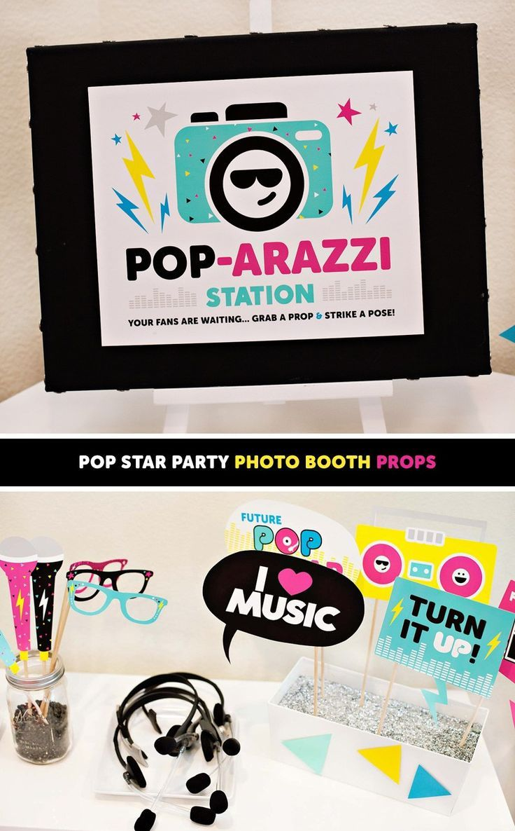How to Throw the Ultimate POP STAR Party! (Kids Birthday) // Hostess with the Mostess
