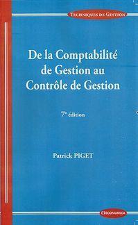 De la Comptabilité de Gestion au Contrôle de Gestion en ...