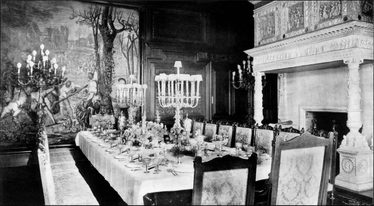 Eugene Van Hoogenbands Dining Room At Breakerhead Teetotaled Mystery Books