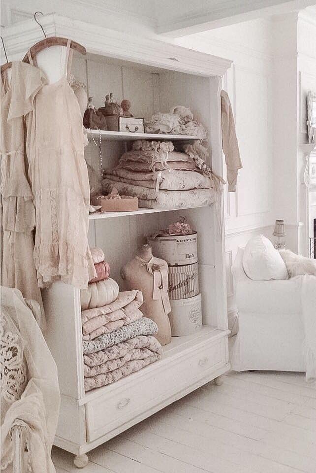 Pure shabby chic, comme ju0027aime chavi chic Pinterest Dormitorio - decoracion recamara vintage