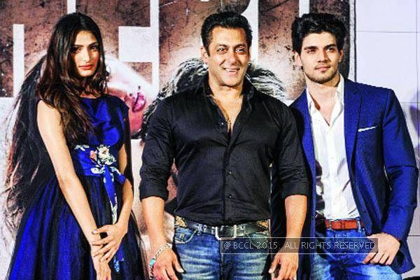 Salman didn't want to intimidate Sooraj- Athiya