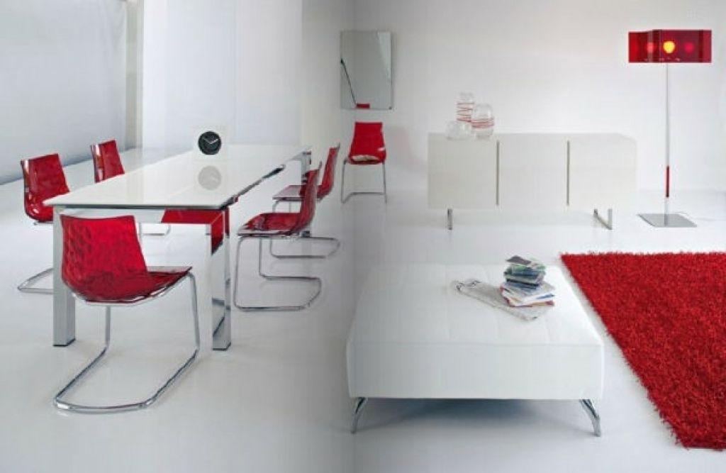Stunning Dekoideen Wohnzimmer Rot Ideas - Farbideen fürs Wohnzimmer ...