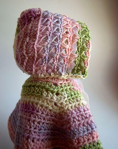 Ravelry: Baby In Bloom Bonnet pattern by Tamara Kelly | Free Crochet ...