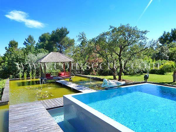 Près d\u0027Aix en Provence, location d\u0027une villa contemporaine aux - location vacances provence avec piscine