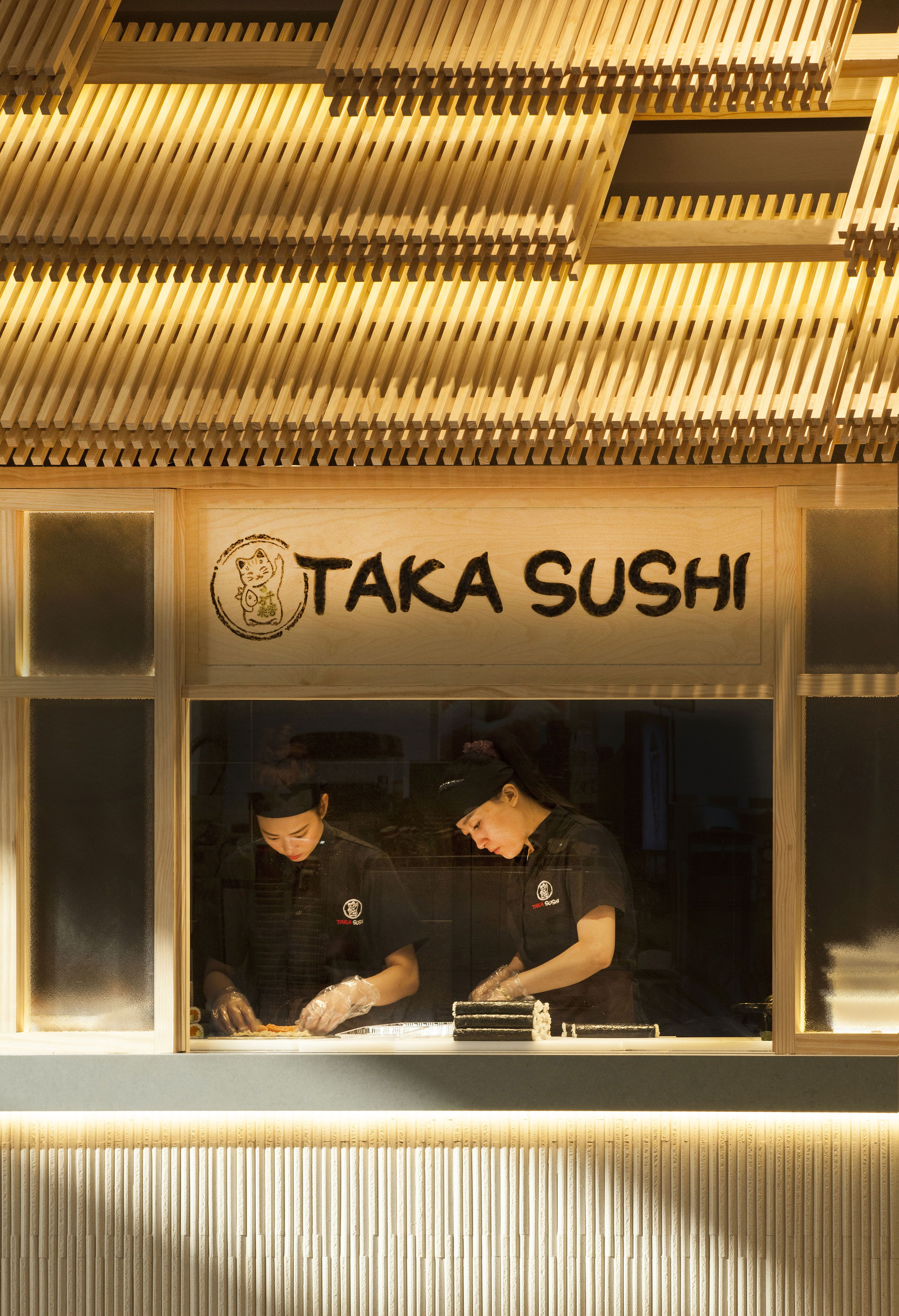 Check out our new Japanese inspired design for this popular Sushi\u2026 & Taka Sushi. Check out our new Japanese inspired design for this ...