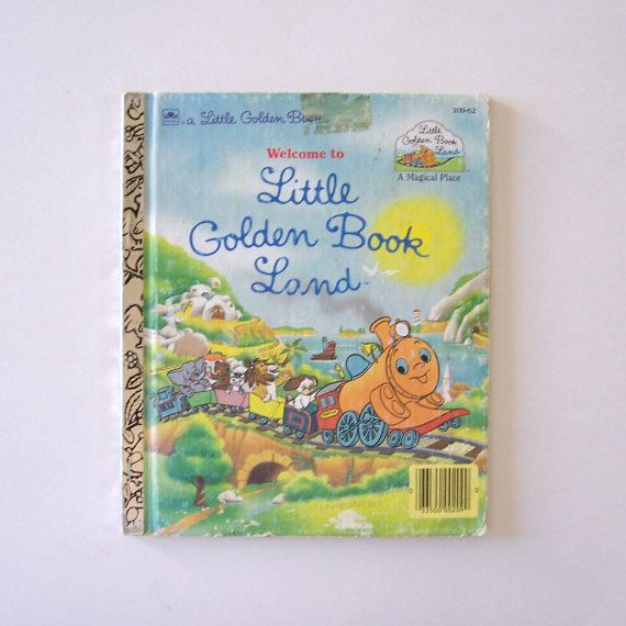 Welcome to Little Golden Book Land by by MyForgottenTreasures, $3.00
