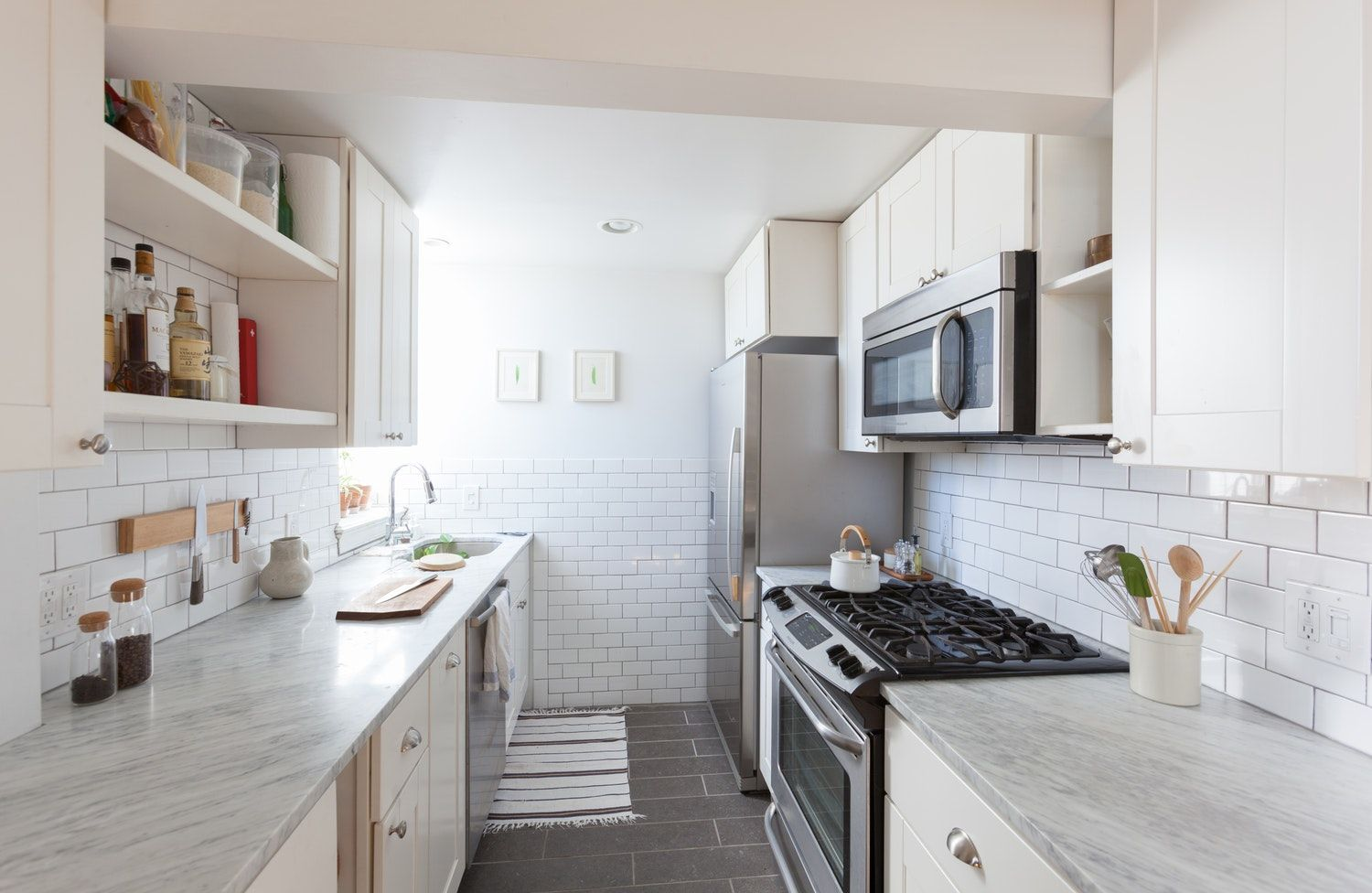 7 Things In Your Kitchen You Don T Have To Clean Nearly As Often As You Do Galley Kitchen Design Small Galley Kitchens Kitchen Design Small