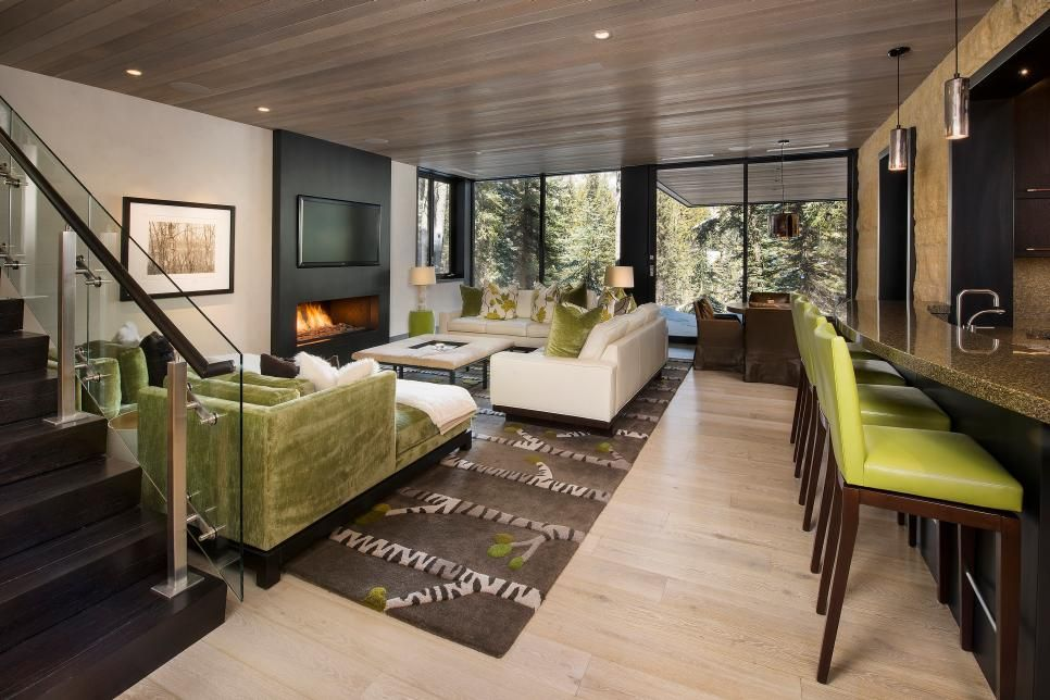 Contemporary Vacation Home With Cantilevered Deck 2019 Hgtv S