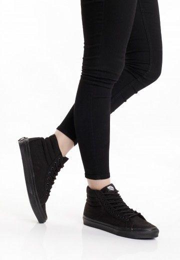 7ad7e510d7 Vans - SK8-Hi Slim Black Black - Girl Shoes - Impericon.com Worldwide
