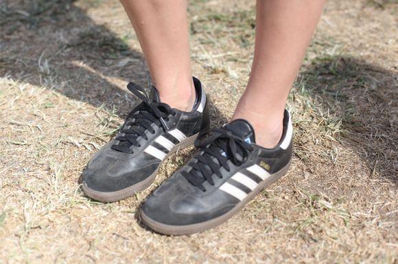 Vintage Adidas Sneakers Gratis mennesker    Style File: Free People Model Michele Ouellet   title=          FP Lifestyle