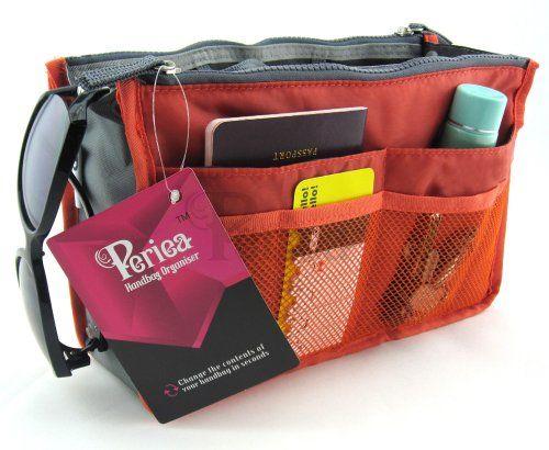 Periea Handbag Organizer Liner Insert 12 Pockets Large C Chelsy