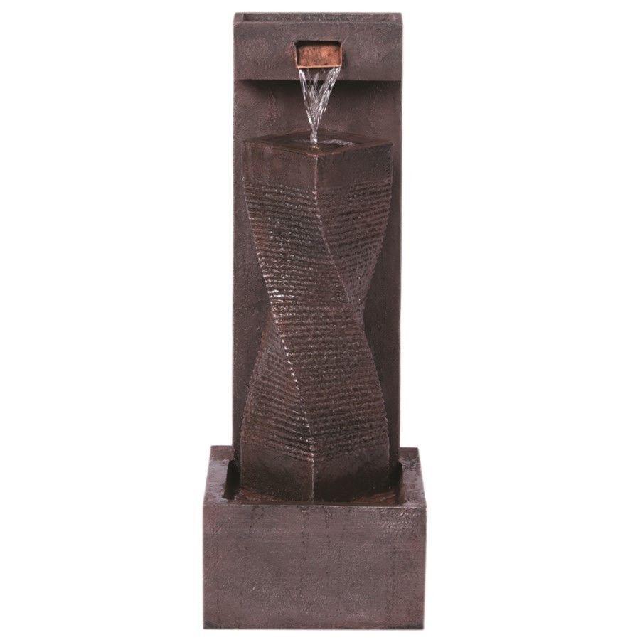 Alfresco Home Spiral Indoor / Outdoor Fountain - 74-0284 | Outdoor ...