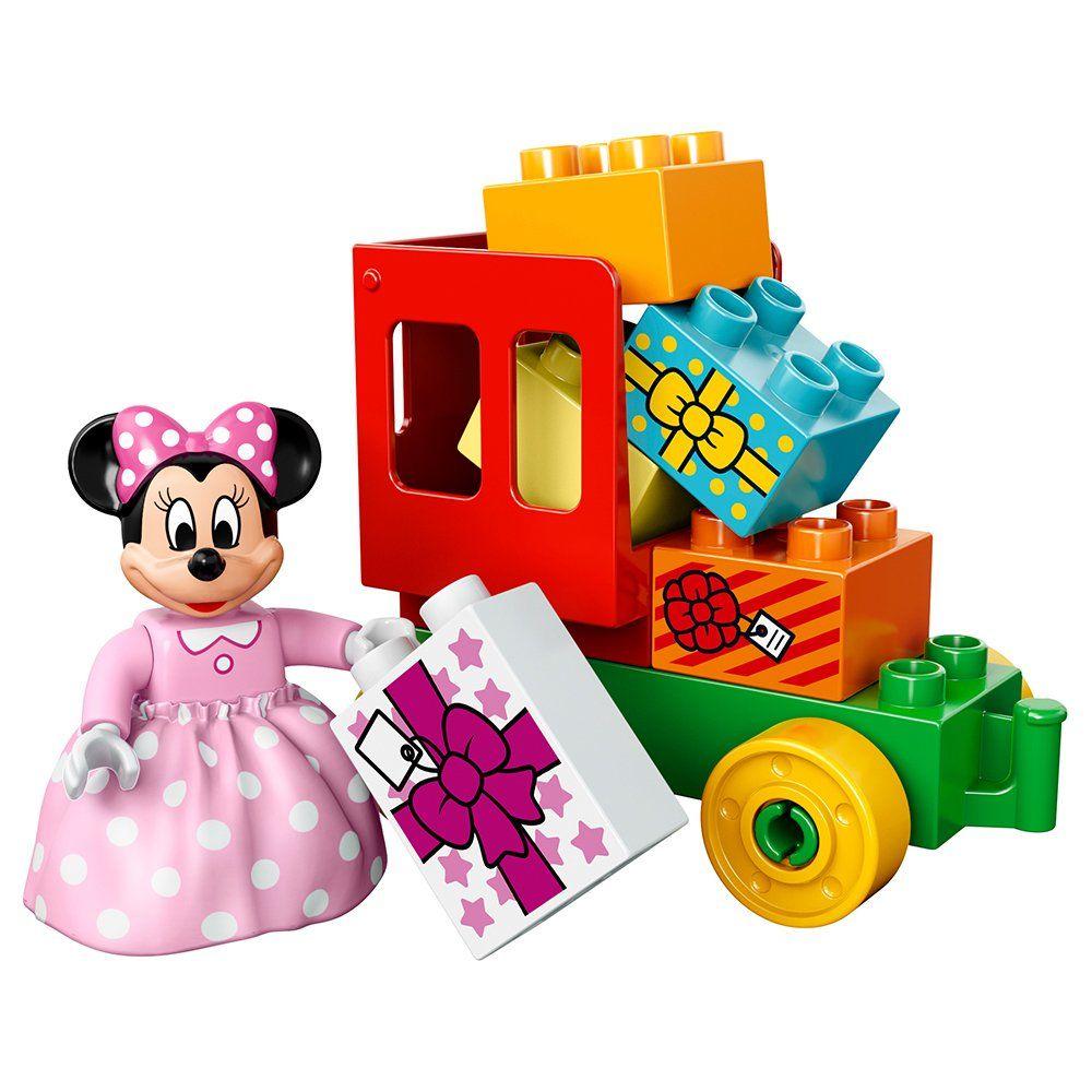Lego Duplo Brand Disney 10597 Mickey And Minnie Birthday Par Bydepot Build A Birthday Train Featuring Your Favorite Lego Duplo Minnie Birthday Toddler Gifts