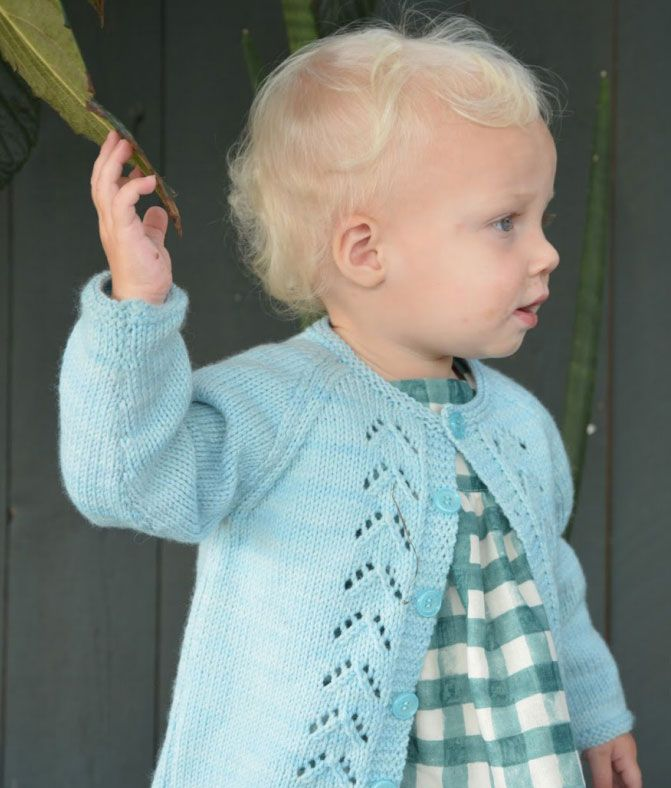 Free Knitting Patterns for Toddlers Cardigans