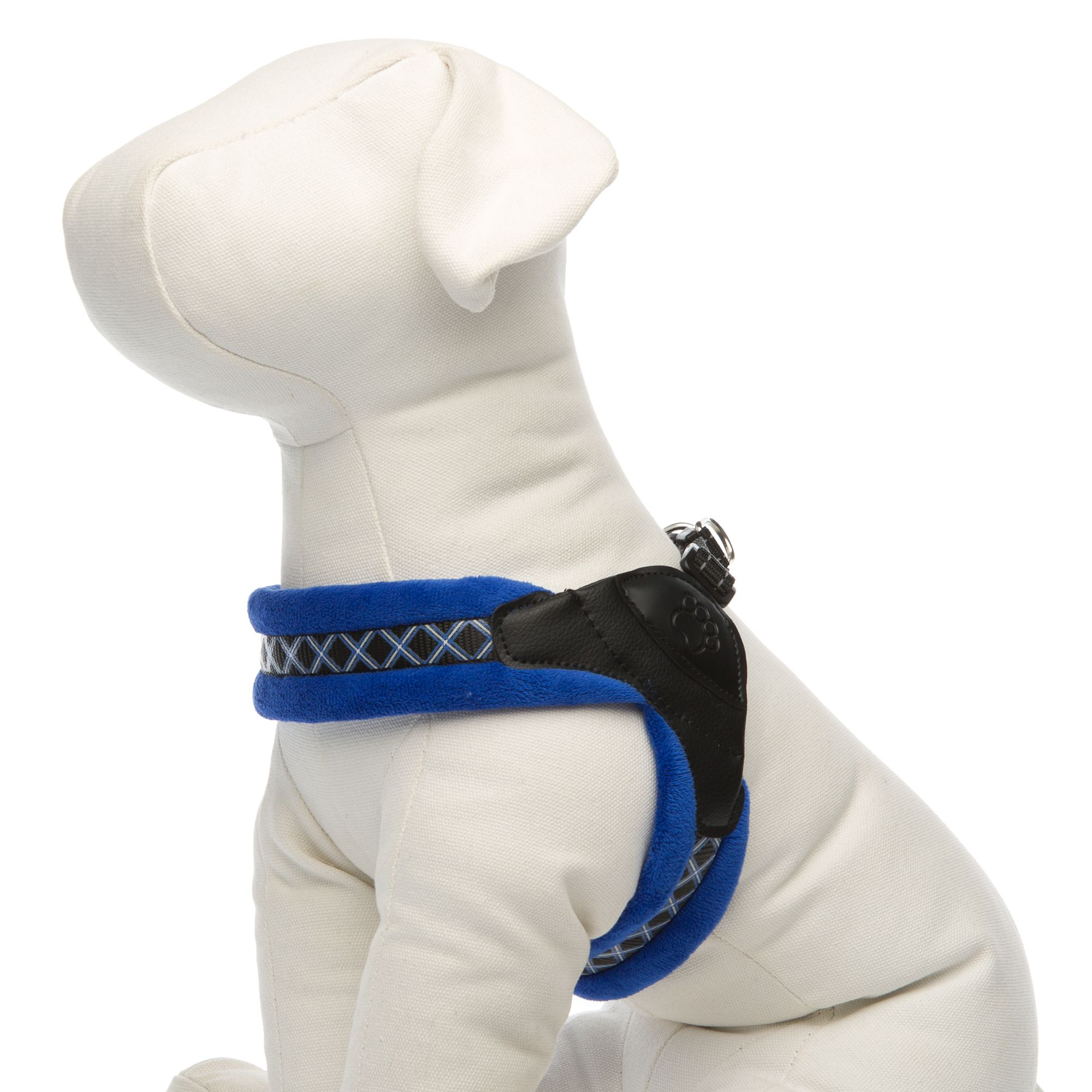 Top Paw Easy Fit Dog Harness Size Medium Dog Harness Blue Dog
