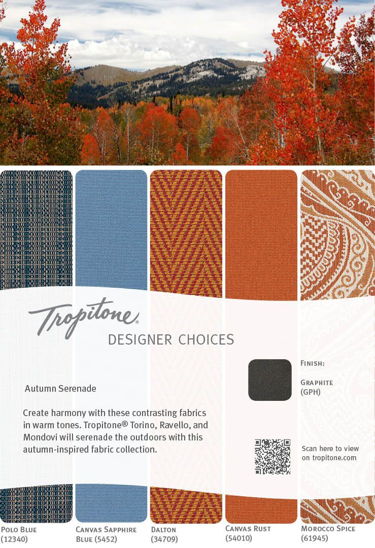 Celebrate Autumn Create harmony with contrasting fabrics in warm