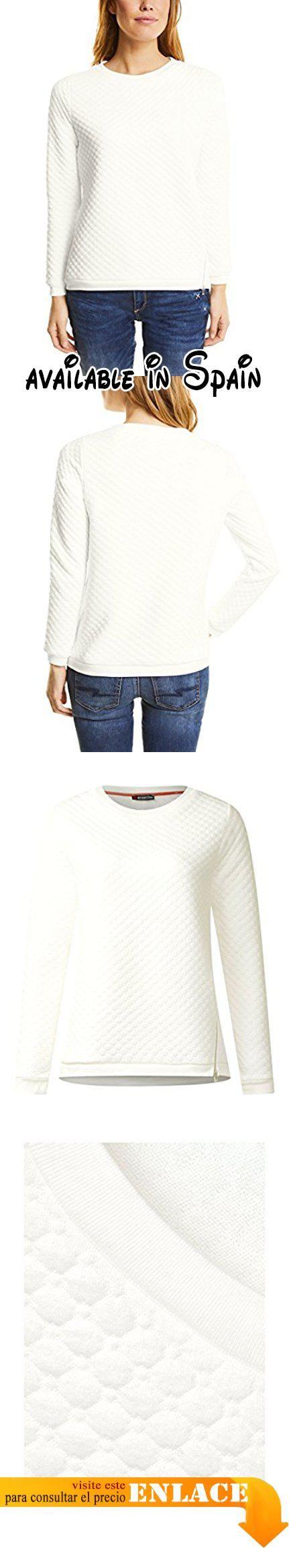 Street One 300379, Sudadera para Mujer, Weiß (Off White 10108), 42
