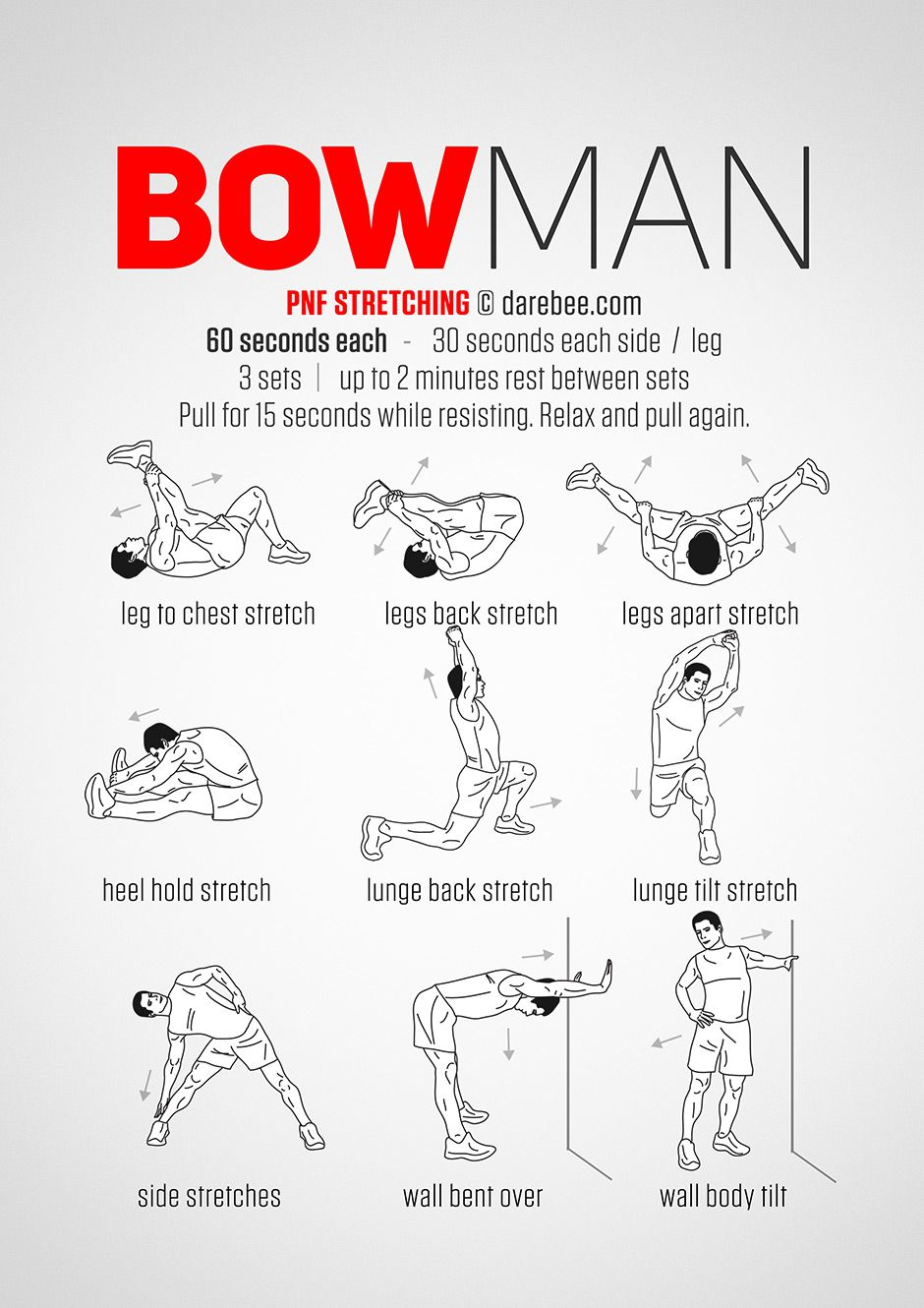 Bowman Workout  wiczenia    Workout Exercises And