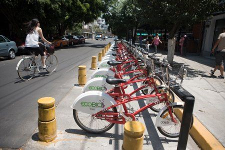 Bike Sharing Thrives Even In Mexico City S Chaotic Streets Bike