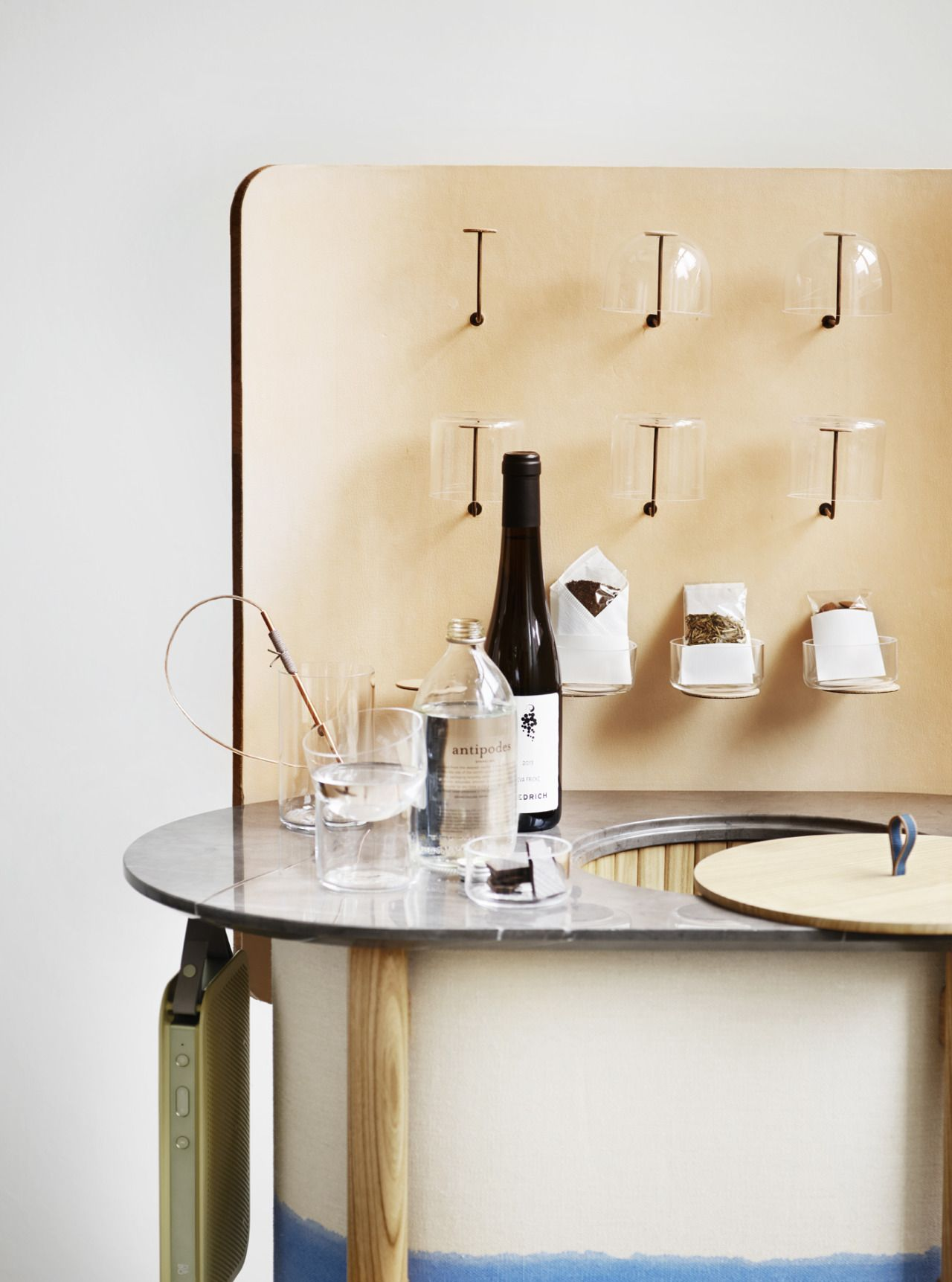 Minibar designed by Cecilie Manz and Rud. Rasmussen. From Wallpaper ...