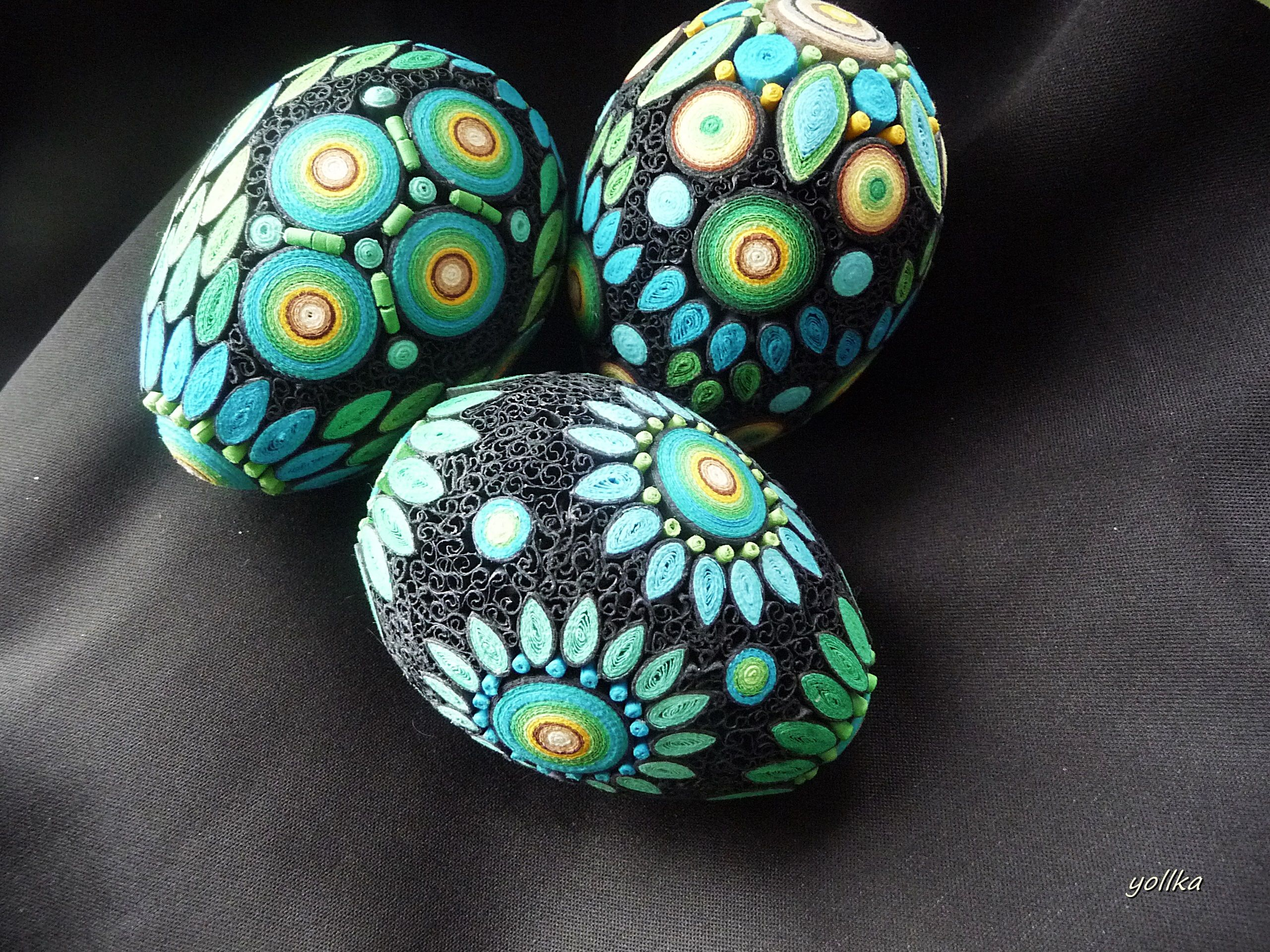 pisanki ostereier pinterest ostern quilling und ostern eier. Black Bedroom Furniture Sets. Home Design Ideas